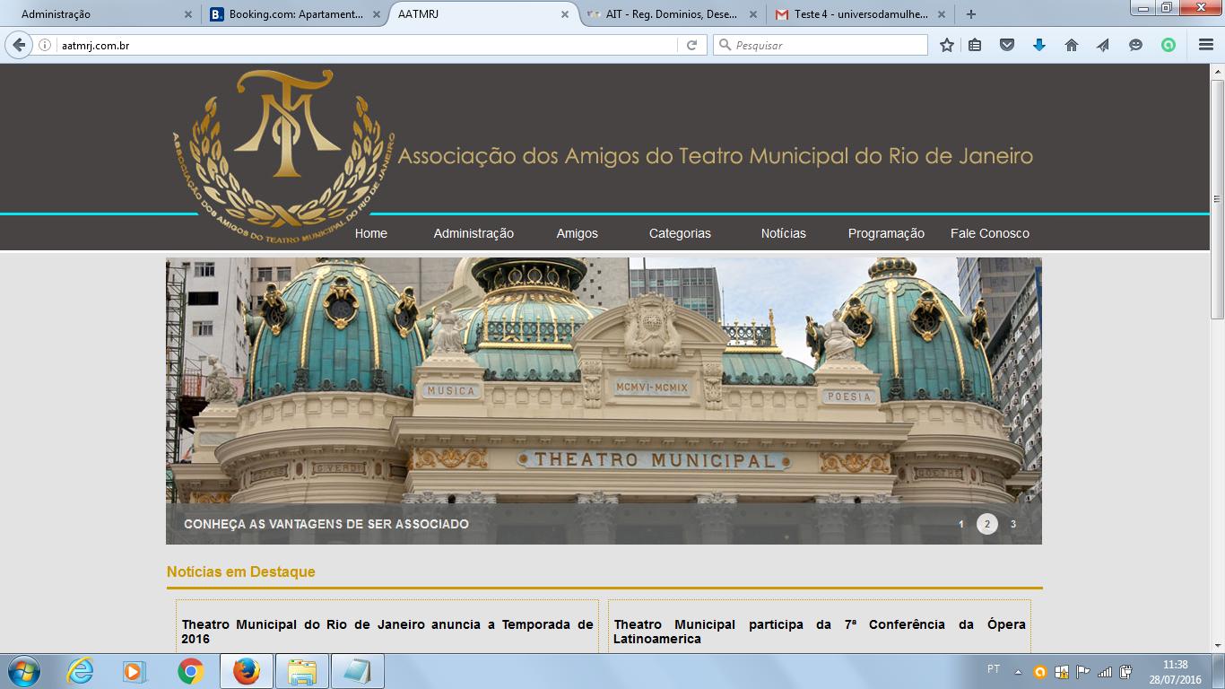 AATMRJ - Ass. Amigos do Theatro Municipal do Rio de Janeiro